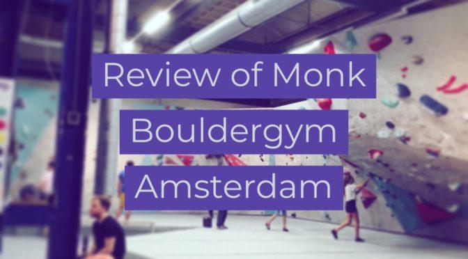 Monk Bouldergym Amsterdam